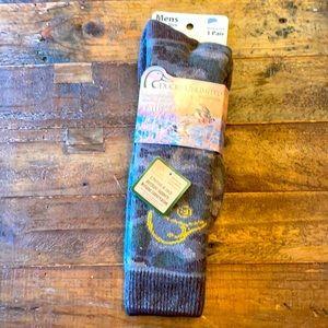 Ducks Unlimited tall boot socks sz L 9-13 NWT